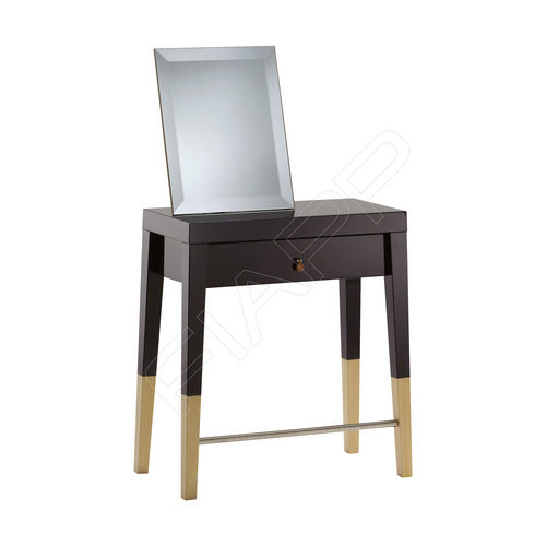 contemporary dressing table / glass / wooden / for hairdressers