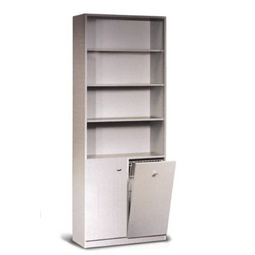 beauty product display rack / wooden / panel / for hairdressers