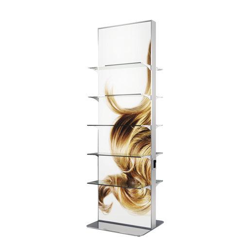 beauty product display rack