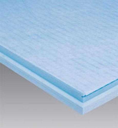 thermal insulation / extruded polystyrene / for basements / rigid panel
