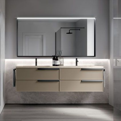 double washbasin cabinet - IDEAGROUP