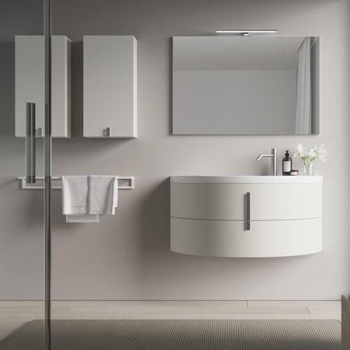 Contemporary Bathroom Cabinet Moon, Modern Bathroom Wall Cabinet