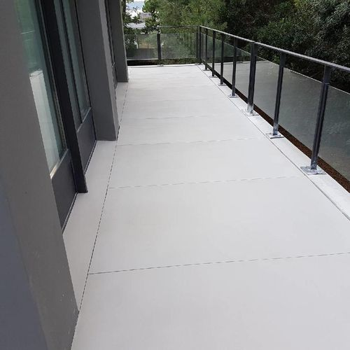 high-performance concrete paving slab