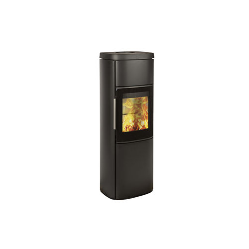 wood heating stove / metal / soapstone / sandstone