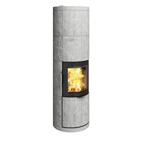 wood heating stove / soapstone / contemporary / 0 - 5 kW