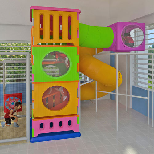 play structure for public buildings / for playgrounds / plastic