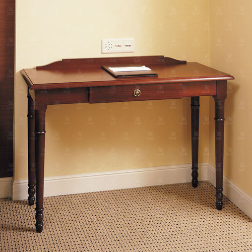 multimedia desk / mahogany / traditional / for hotels