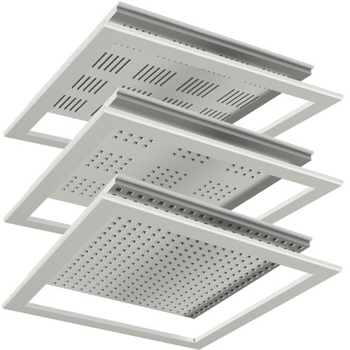 suspended ceiling access hatch / square / metal