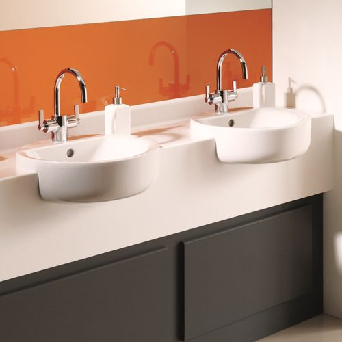 double vanity top / Solid Surface / professional