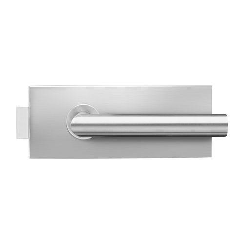 mechanical lock / glass door