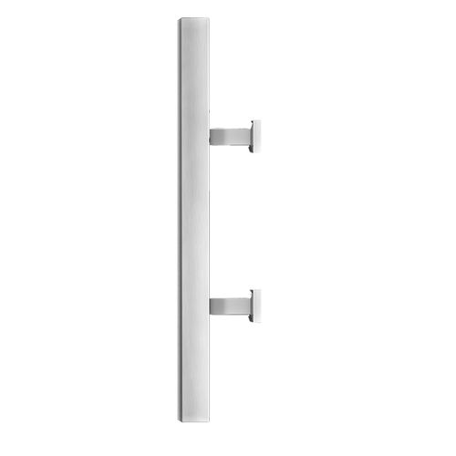 door pull handle / stainless steel / contemporary
