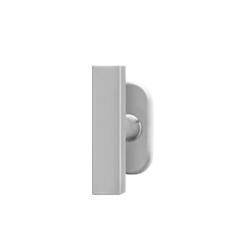 tilt-and-turn window handle / stainless steel / contemporary