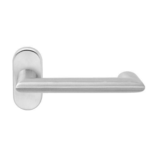 door handle / stainless steel / contemporary