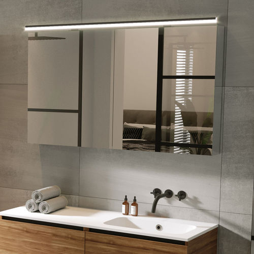 Contemporary Bathroom Cabinet Type 12, Modern Bathroom Wall Cabinets