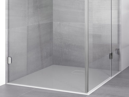 square shower base