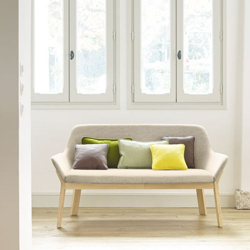 contemporary upholstered bench - Alki
