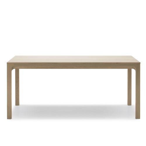 lacquered wood desk