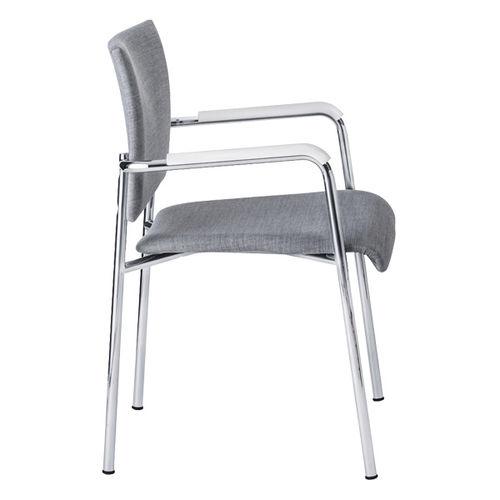 contemporary visitor chair - BRUNE Sitzmöbel GmbH