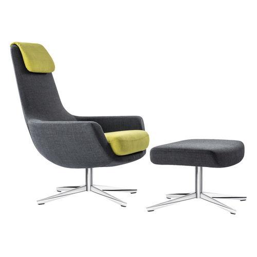 contemporary armchair - BRUNE Sitzmöbel GmbH