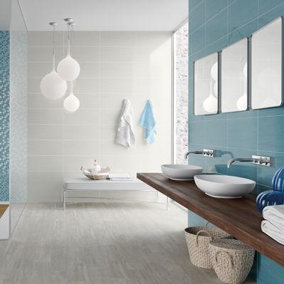 indoor tile / floor / porcelain stoneware / 45x45 cm
