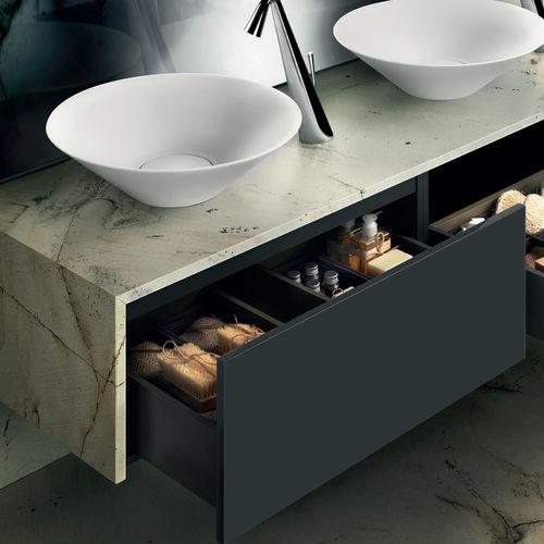 double washbasin cabinet
