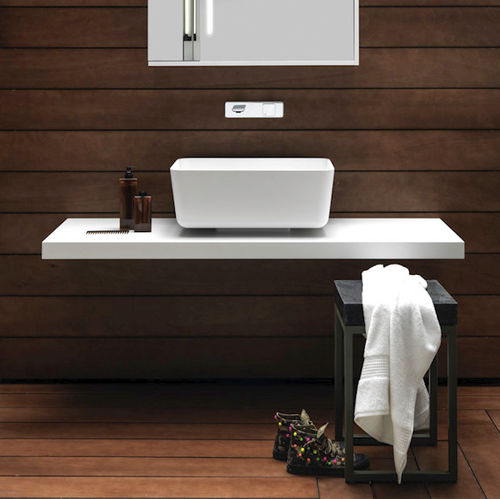 wooden vanity top