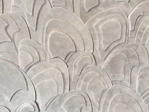 leather decorative panel
