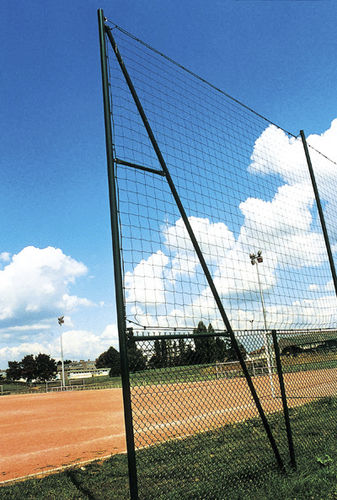 athletic field fence / wire mesh / metal