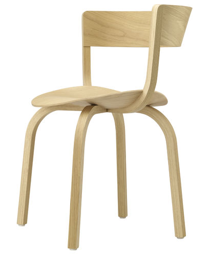contemporary restaurant chair - THONET