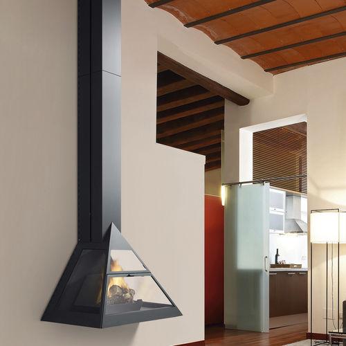 wood-burning fireplace / gas / bioethanol / multi-fuel