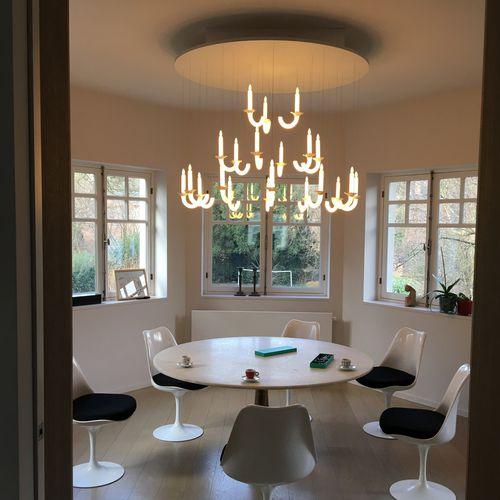 custom chandelier - Beau & Bien