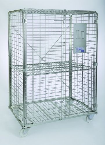 sports equipment storage cabinet / mobile / commercial