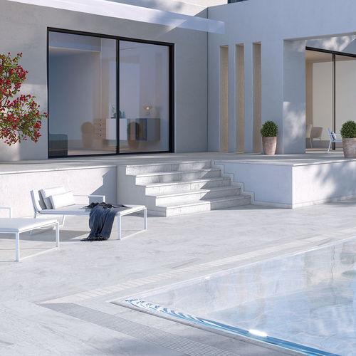 poolside tile