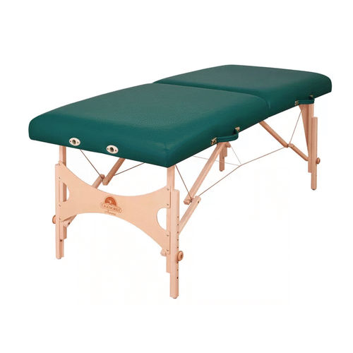 collapsible massage table / wooden / commercial