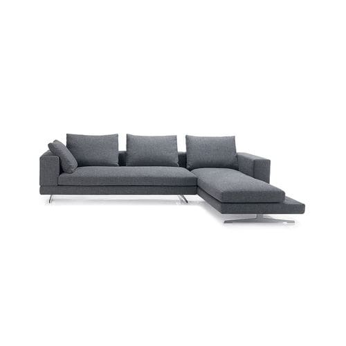 sofa bed / modular / contemporary / fabric