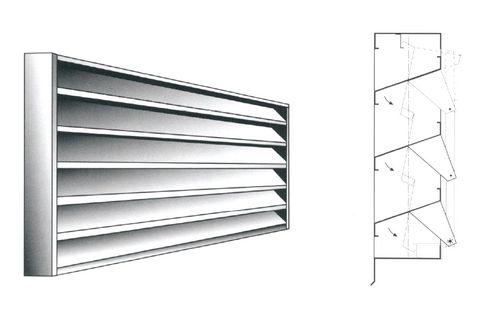 metal ventilation grill