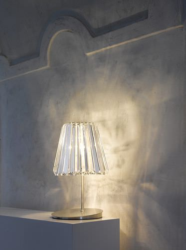 table lamp / contemporary / crystal