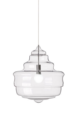 pendant lamp / original design / glass