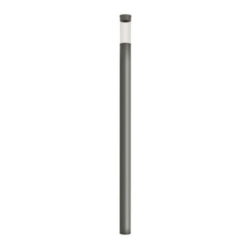 contemporary light column / aluminum / PMMA / LED
