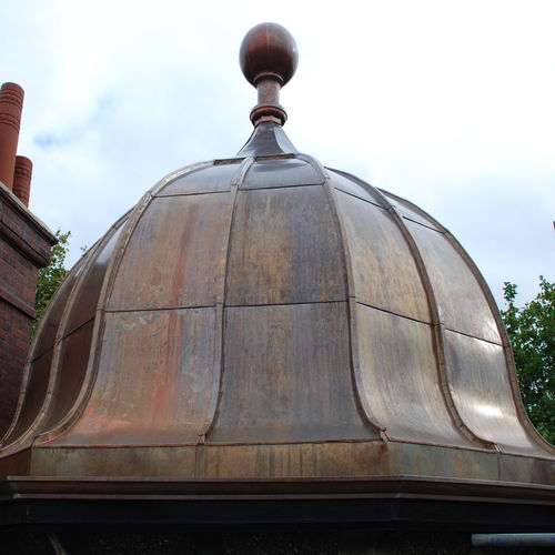 copper roofing / standing seam