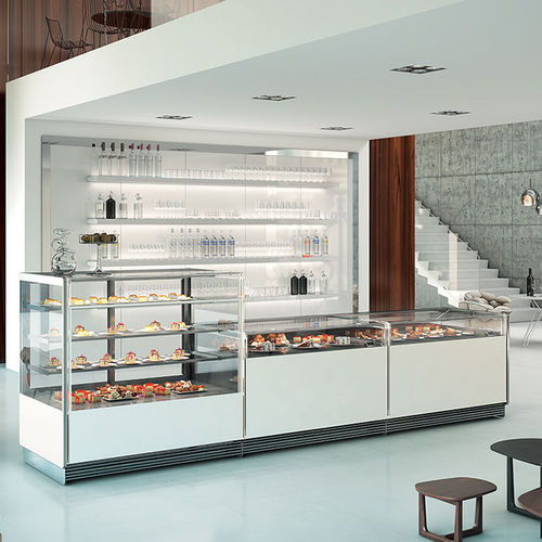 refrigerated display counter