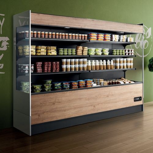 refrigerated display case with shelves - frigomeccanica