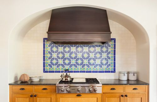 Outdoor Tile Spanish Colonial Fireclay Tile Kitchen Wall Ceramic