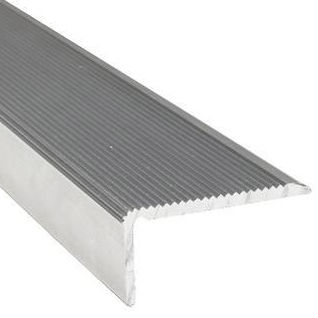 aluminum profile / L / for steps / for industrial applications