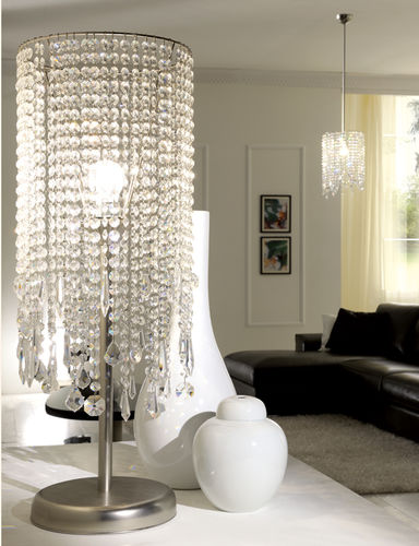 table lamp / traditional / crystal