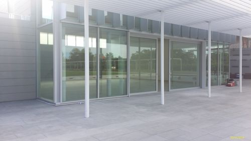 door sliding system / glass