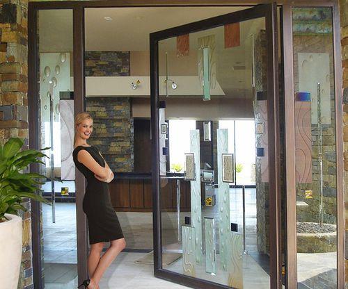 swing French door / aluminum