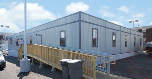 commercial container construction - Williams Scotsman