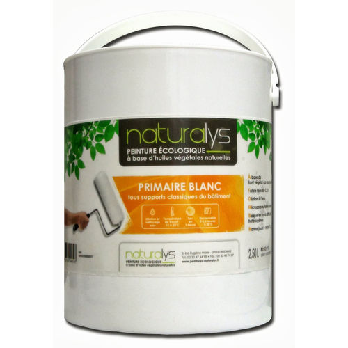 natural primer / plaster / for masonry / for wood