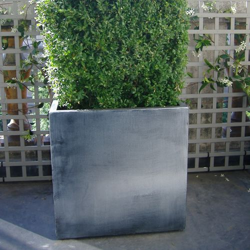 fiber cement planter